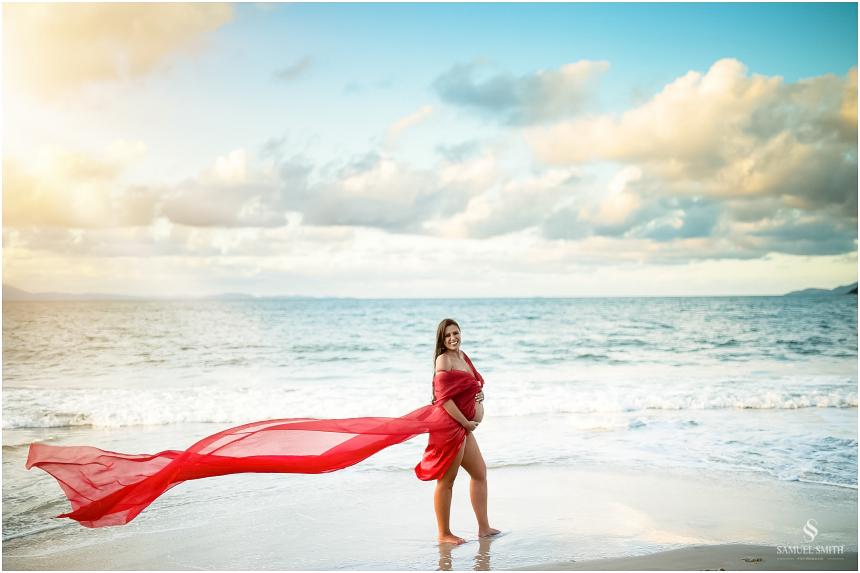 sessão fotos de gestante ensaio fotográfico grávida praia florianópolis Laguna SC fotógrafo Samuel Smith (47)