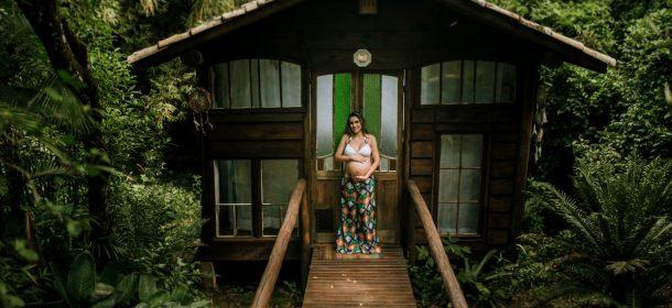 ENSAIO FOTOGRÁFICO | GESTANTE | LUANA RODRIGUES | PRAIA DO ROSA SC