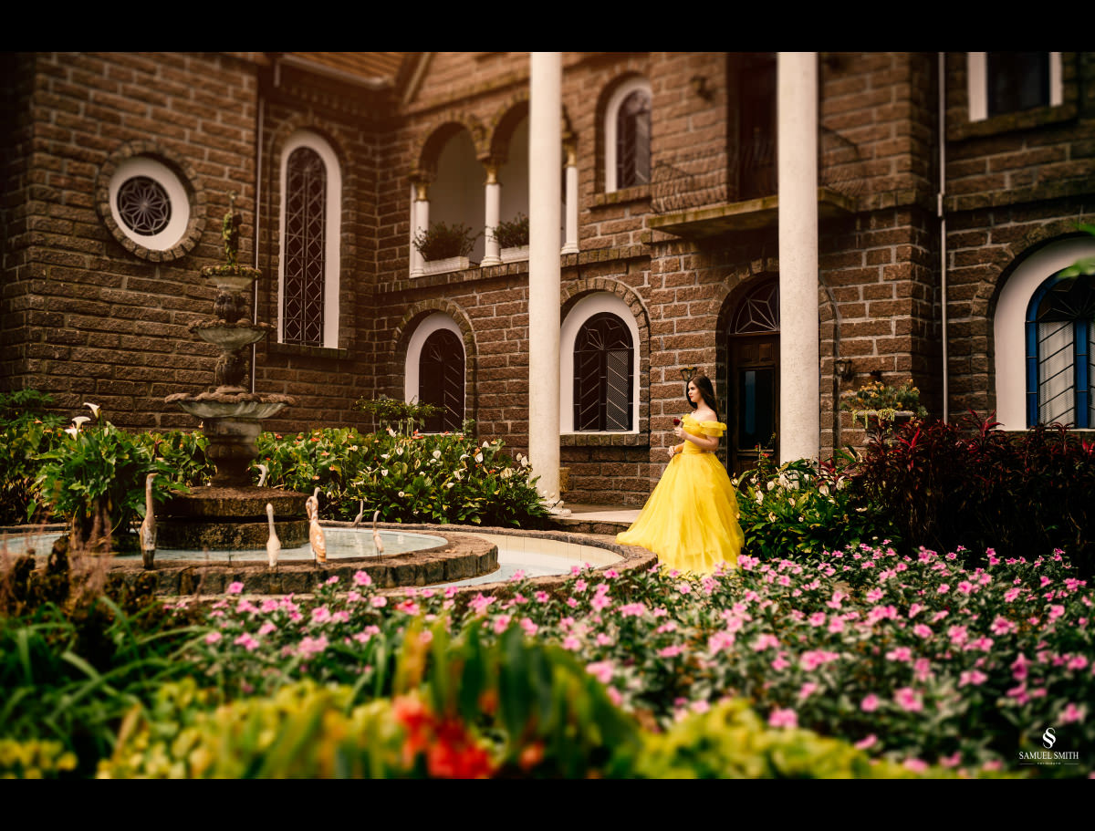 fotógrafo samuel smith book 15 anos tema bela e a fera castelo belvedere treze de maio sc (1)